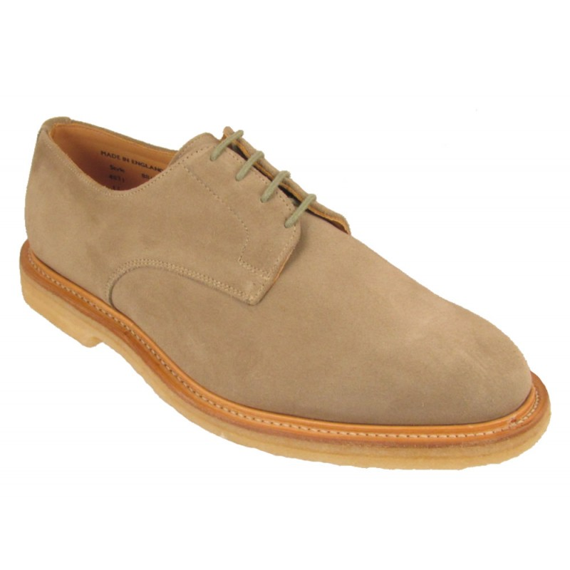 6d65490b9eb35 Sanders Archie. Smart casual suede Gibson design