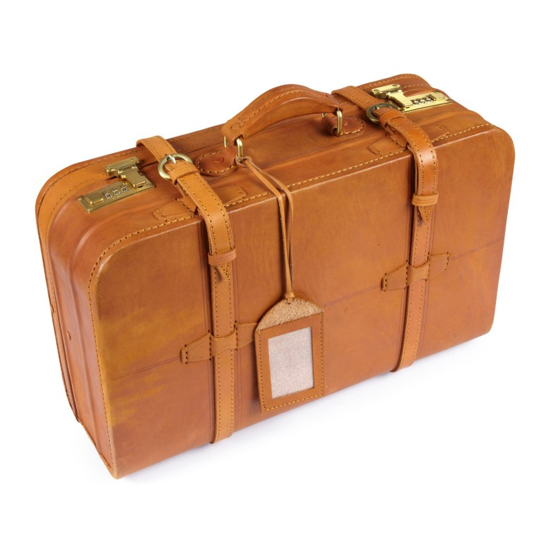 Ashwood medium vintage suitcase vin18 shoes international - Vintage suitcase ...