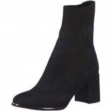 Block Heel Ankle Boot 25352-25
