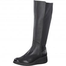 Leather Knee Length Boot