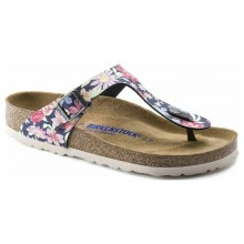 Gizeh Soft Footbed -  Flower Navy