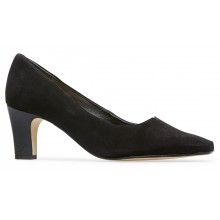Eleanor - Black Suede