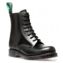 8 Eye Derby Boot - Black