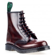 8 Eye Derby Boot - Burgundy