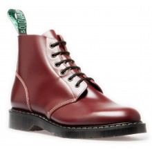 6 Eye Derby Boot Burgundy - Oxblood