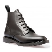 6 Eye Derby Boot Full Grain - Black