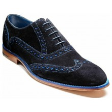 Grant 4422 Navy/Blue Suede