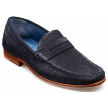 William 3944 Navy Suede