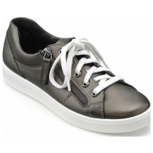 Dark Pewter Leather
