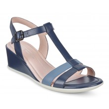 Shape 35 Wedge Sandal 250133 True Navy/Retro Blue
