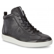 Soft 1 Mens 400524 - Black Leather