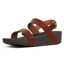Edit Sandal - Cognac