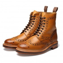 Grenson Fred Tan Calf