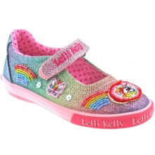 Rainbow Unicorn LK9070 - Multi Glitter