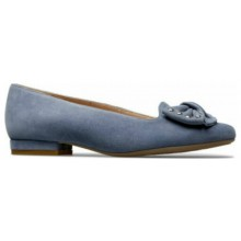 Janet Antique blue Suede