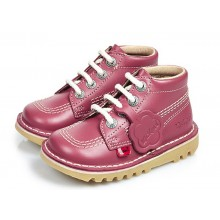Kickers Infants Kick Hi Classic Boots - 1KF0000408 Blossom