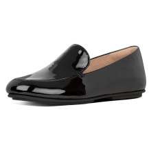Lena Patent Loafers - Black