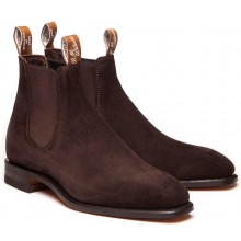 Comfort Craftsman Suede Chocolate