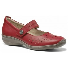 Tango Red Leather