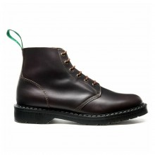 6 Eye Derby Boot Brown - Greasy