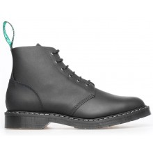 6 Eye Derby Boot Black - Greasy