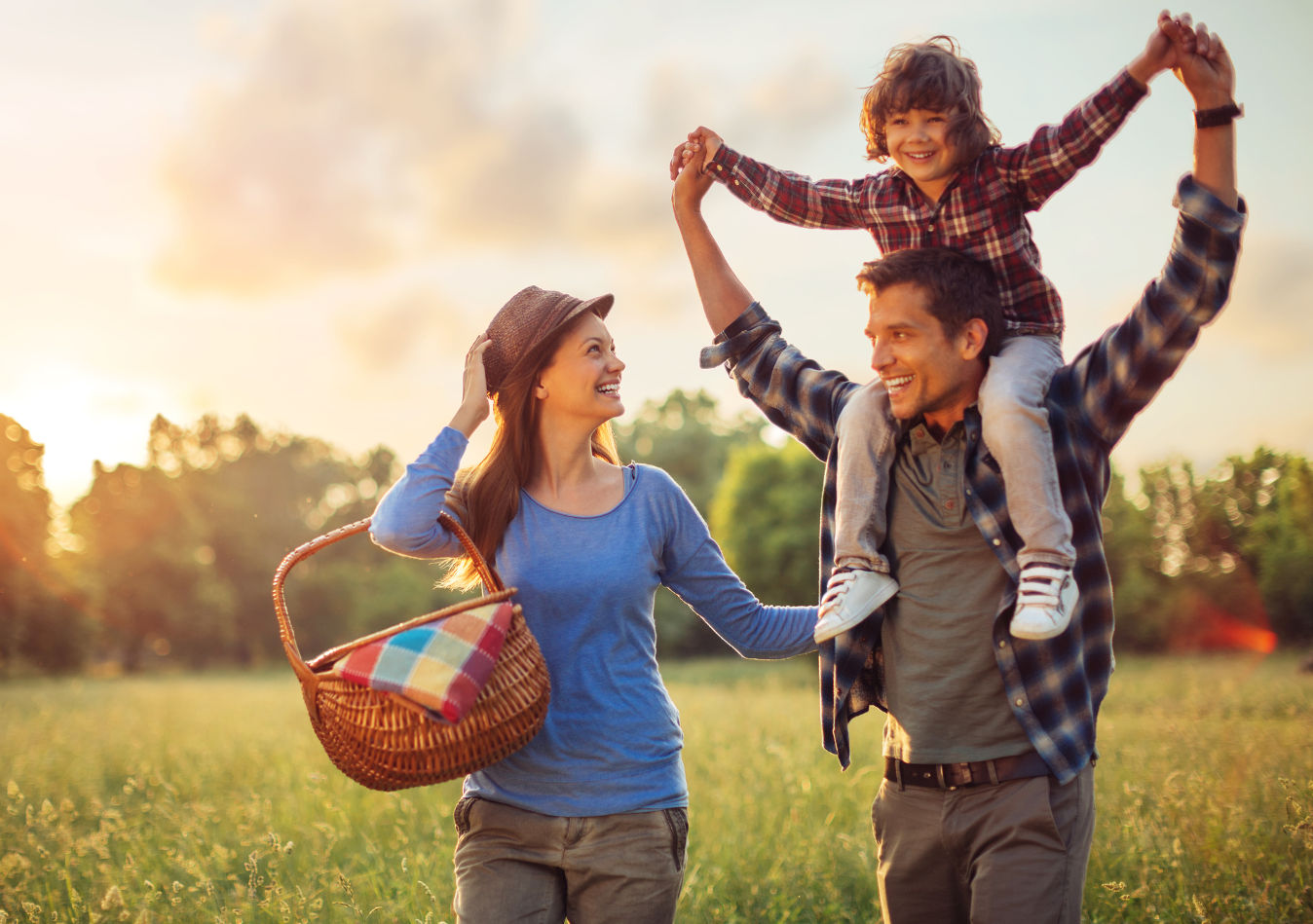 Spring Family Image