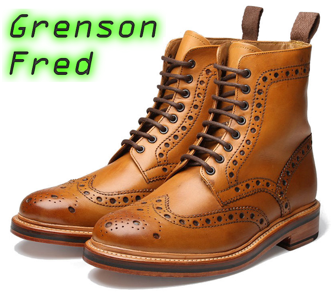 Presenting the Grenson Fred